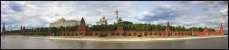 Moscow Kremlin Panoramic View